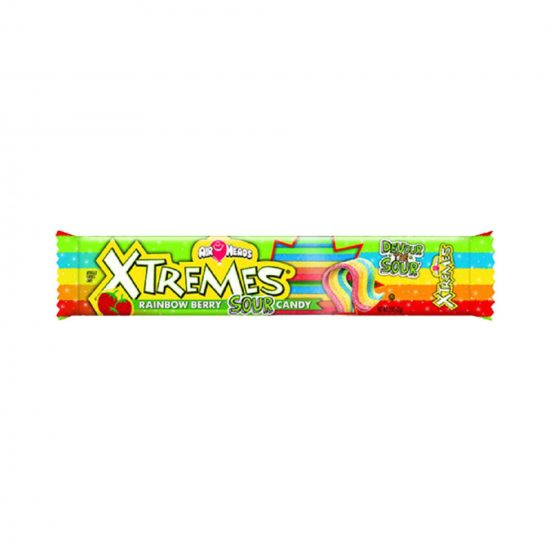 Air Heads Xtremes Rainbow Berry Candy 57g-min