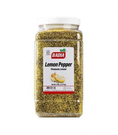 Badia Lemon Pepper 2.72kg (6lbs)-min