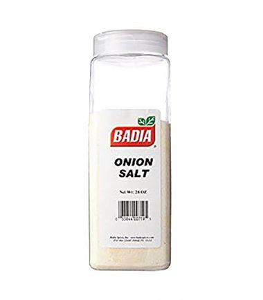 Badia Onion Salt 793.8g (28oz)