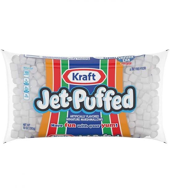 Kraft Jet-Puffed Mini Marshmallows 283g (10oz)