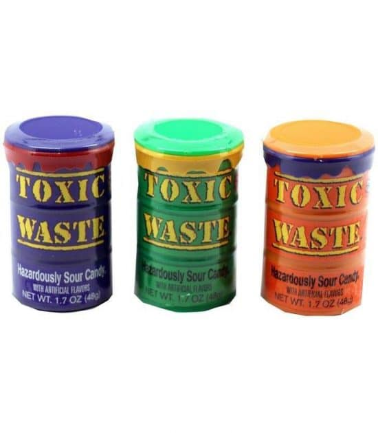 Toxic Waste Coloured Drums 48g (1.7 oz)