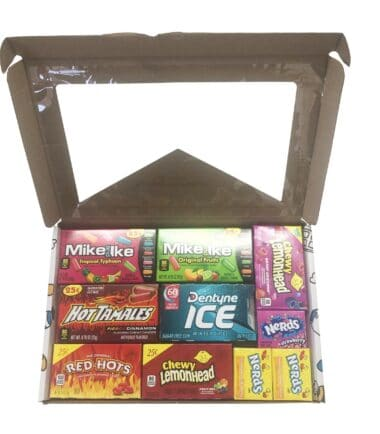 Picaboxx Small American Mixed Sweets Selection Gift Hamper Variety Box