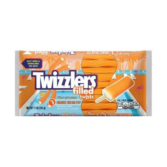 Twizzlers Orange Cream Pop Twists 311g (11oz)