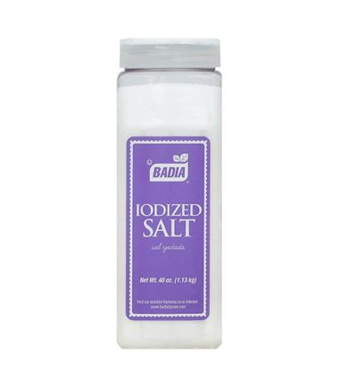 Badia Iodized Salt 1.13kg (40oz)