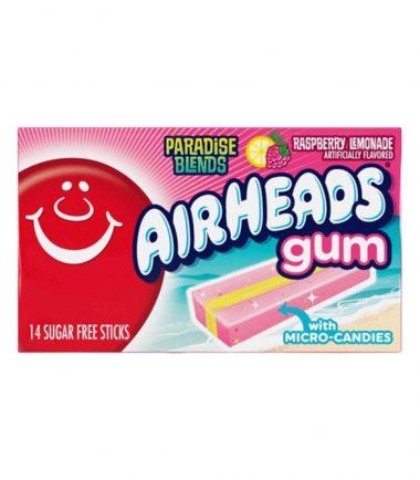 Air Heads Raspberry Lemonade Gum 34g