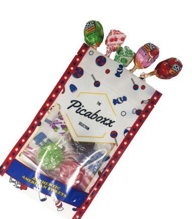 Lollipop gift pouch
