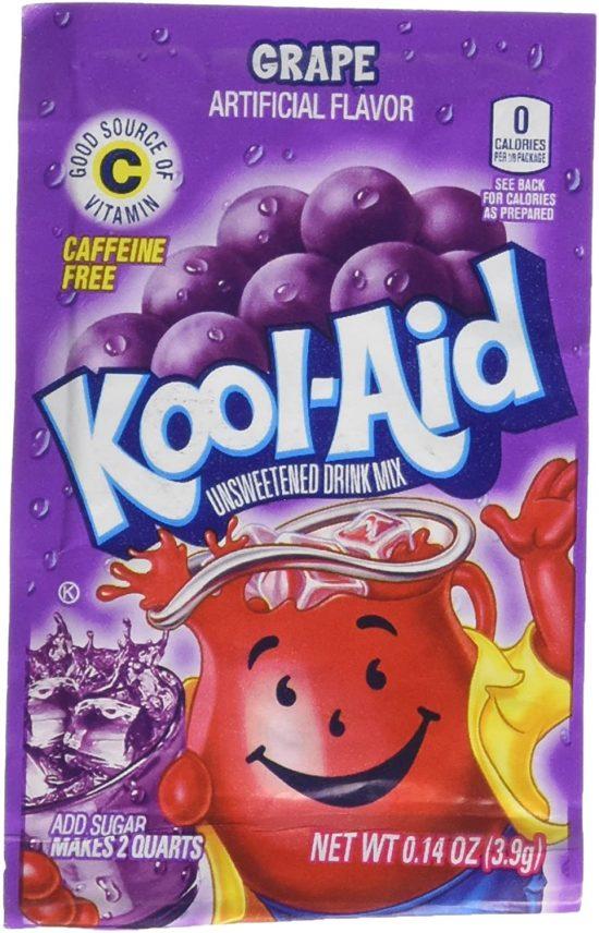 Kool Aid Sachet Grape (2 Quarts)