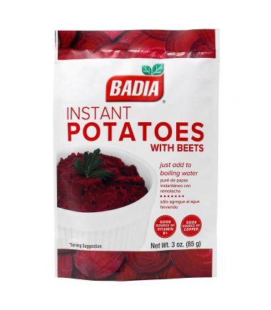 Badia Instant Potatoes with Beets 113.4g (4oz)