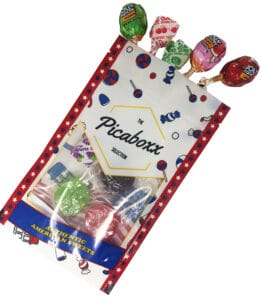 American lollipops gift pouch sweet gift idea candy pouch candy gift