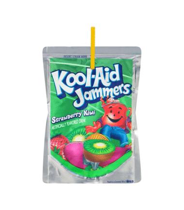 Kool Aid Jammers Strawberry Kiwi 177ml (6 fl oz)