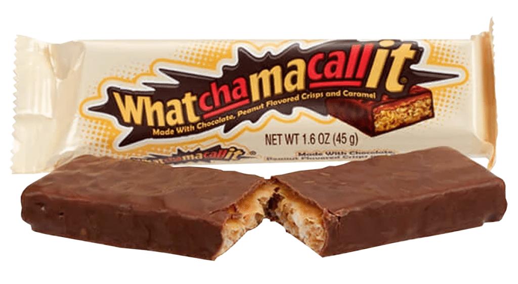 Hershey's Watchamacallit bar american chocolate bars