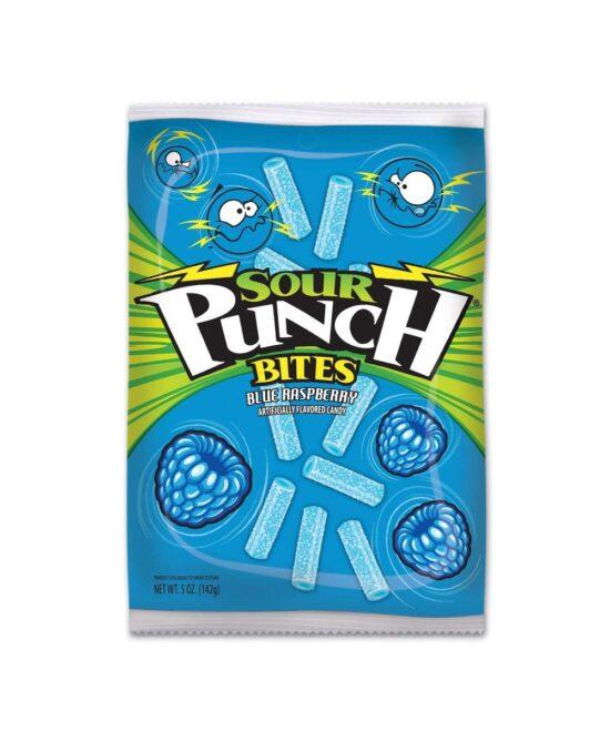 Sour Punch Blue Raspberry Bites 141g (5oz)