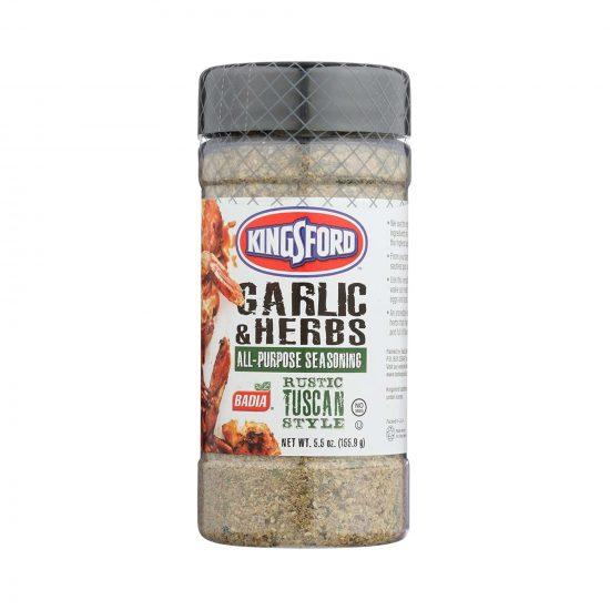 Badia Kingsford Garlic & Herb 155.9g (5.5oz)