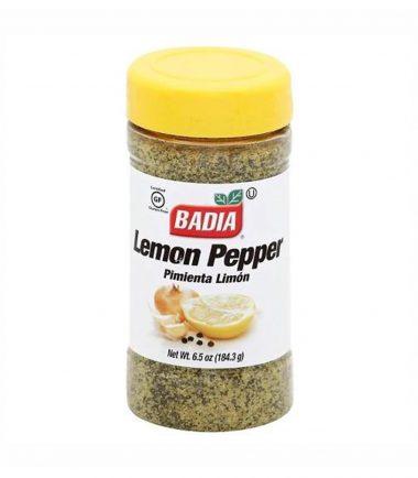 Badia Kingsford Lemon Pepper 184.3g (6.5oz)-min