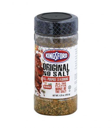 Badia Kingsford Original No Salt 120.5g (4.25oz)