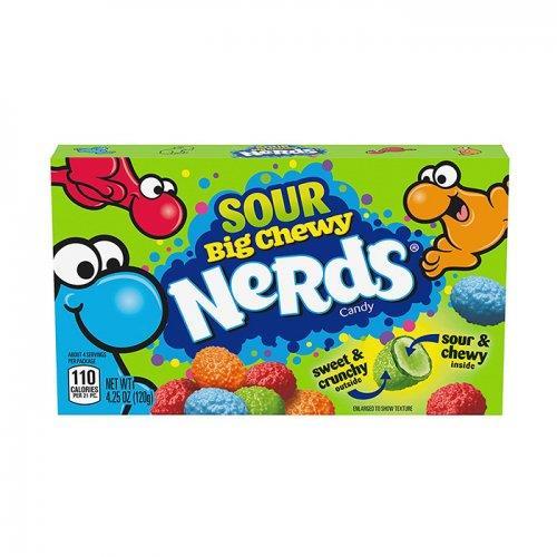 Wonka Nerds Big Chewy Sour Theater Box 120.4g (4.25oz)