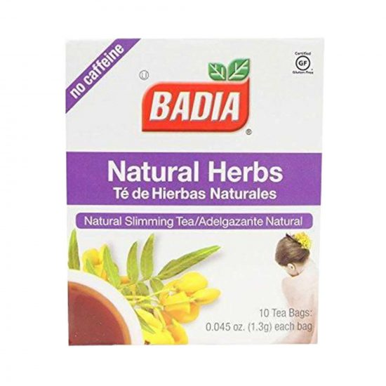 Badia Natural Herbs Tea 10 Bags 1.3g