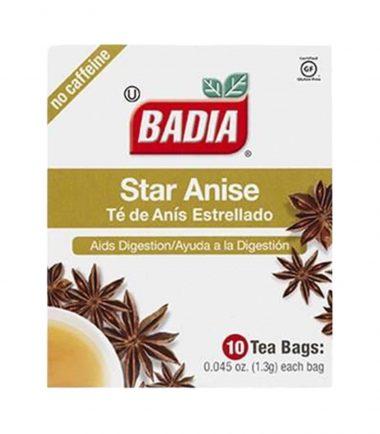 Badia Star Anise Tea 10 Bags 1.3g